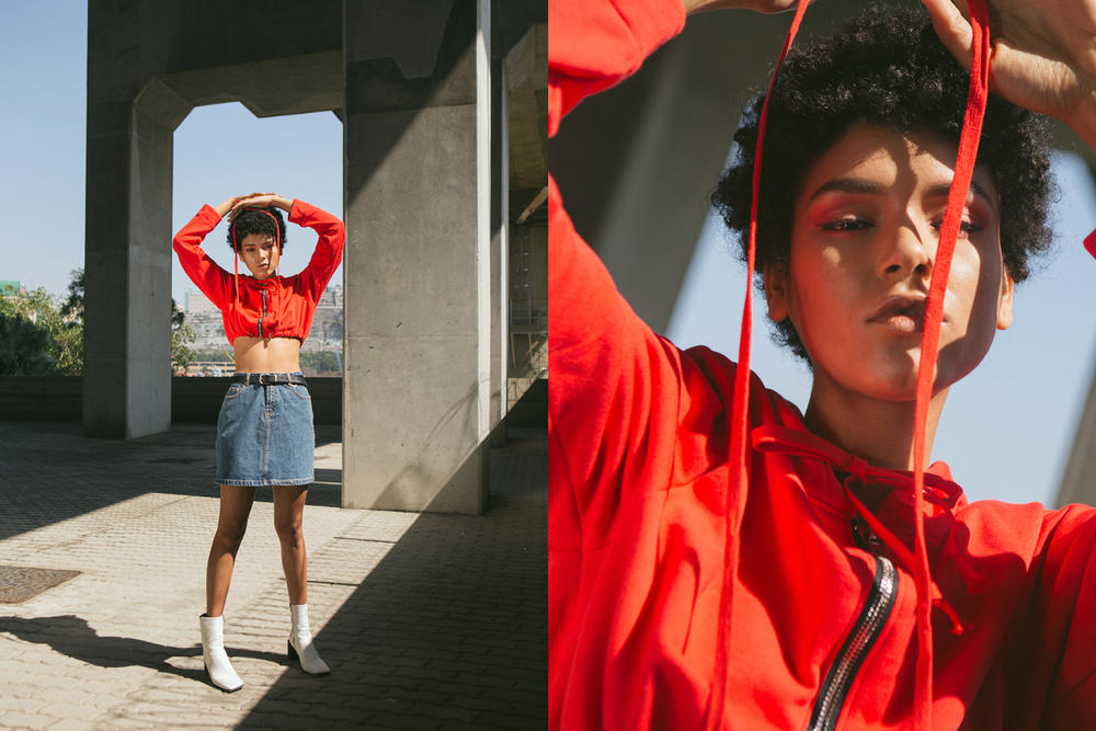 Danielle Guizio HBX Spring/Summer 2018 Editorial HBXWM New York Streetwear Street Style Inspired Lookbook