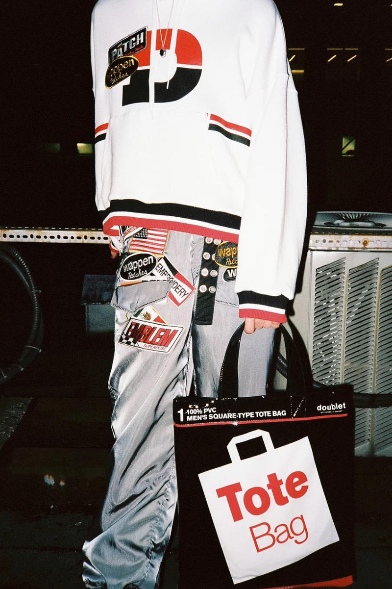 Doublet Spring/Summer 2018 Editorial by 017 Collection Deadstock Apparel Dickies Hanes Inspiration