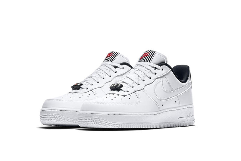 Nike Air Force 1 Valentine's Day Release White Heart Detail Limited Edition AF1 Silhouette