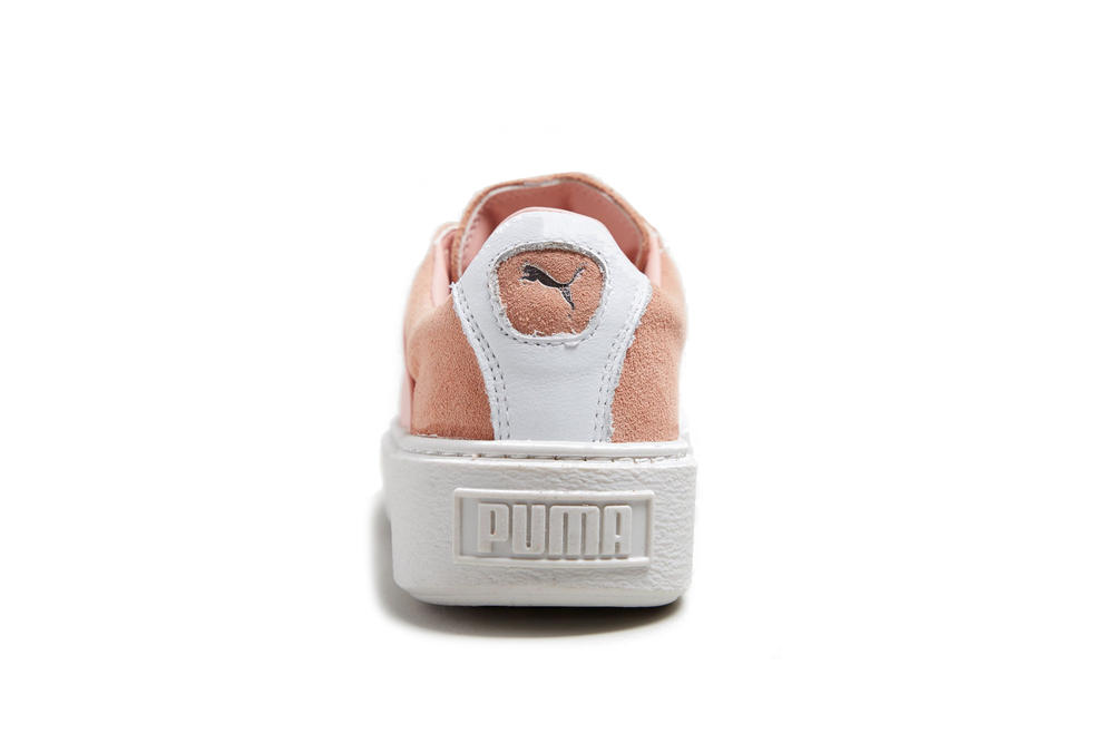 PUMA Platform X Rose Pink Sneaker Colorway Strap Cross