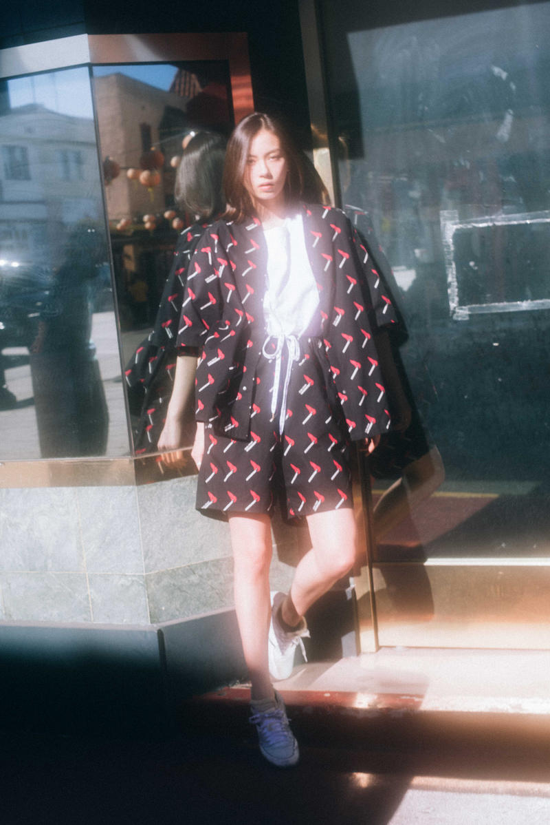 Sasquatchfabrix Brain Dead Lookbook Lauren Tsai Tokyo Print Capsule Collection Clothes Fashion