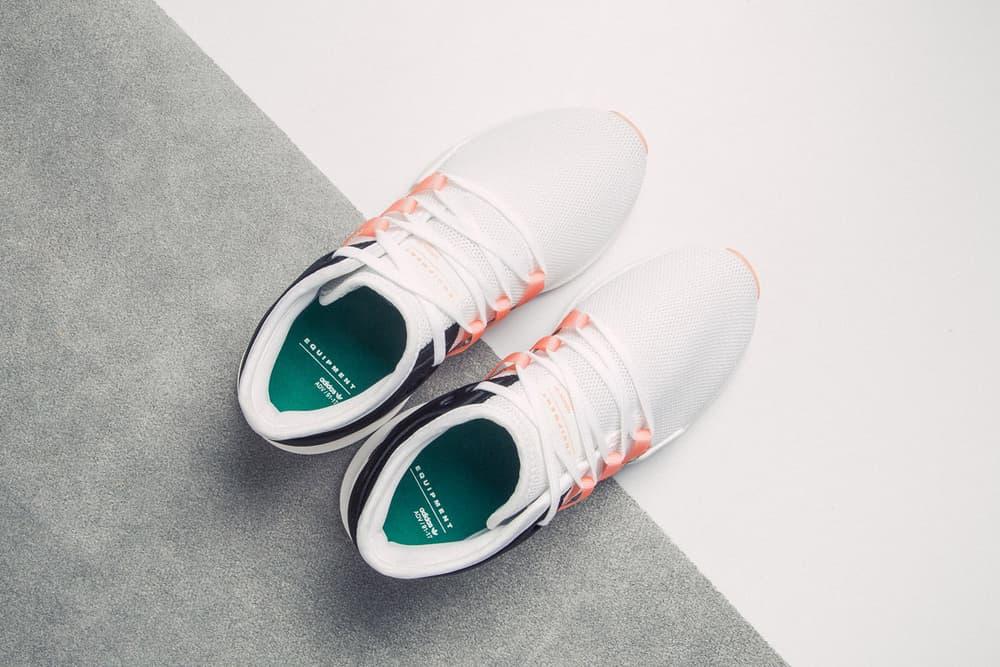 """adidas Originals EQT Racing ADV """"Chalk Coral"""" HBX HBXWMN Sneakers Shoes"""