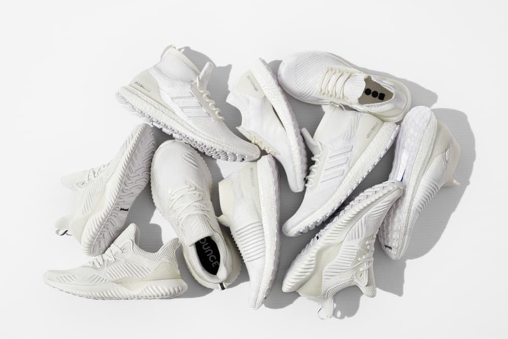 adidas Running Drops Undye Ultra Boost Pack White Sneaker All Terrain UltraBOOST Laceless X AlphaBOUNCE Beyond