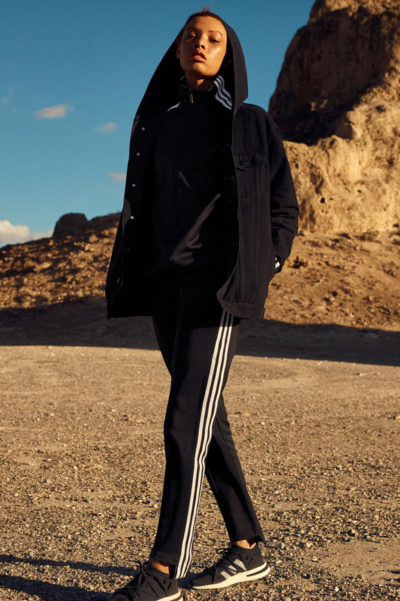 NAKED x adidas Originals Consortium Arkyn Collection Denim Jacket Track Pants Black