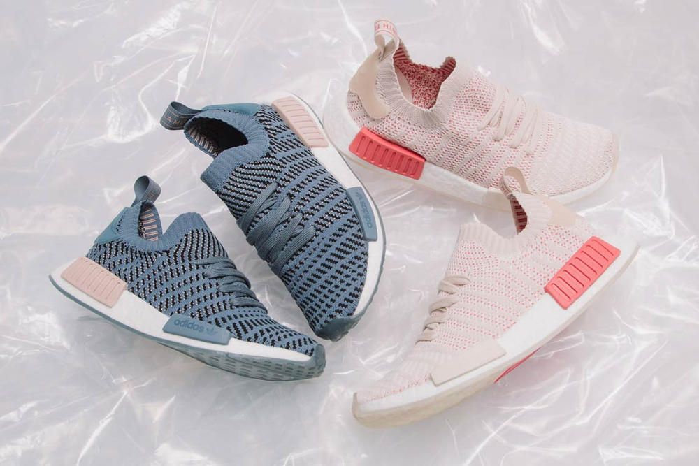 Adidas Nmd R1 Stlt Primeknit In Pink And Blue Hypebae