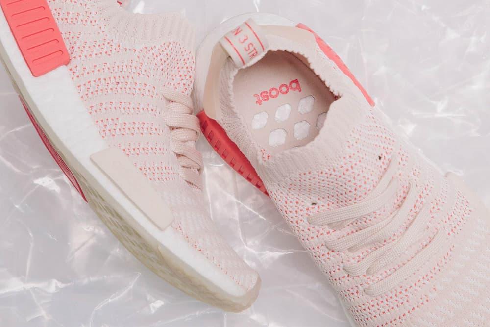 adidas Originals NMD R1 STLT Primeknit Pink