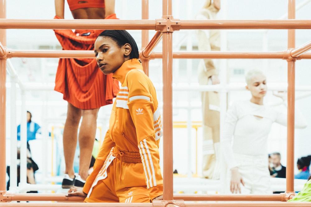 adidas Originals Daniëlle Cathari Presentation New York Fashion Week 2018 Orange Tracksuit