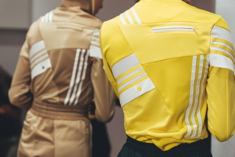 adidas Originals Daniëlle Cathari Presentation New York Fashion Week 2018 Tan Yellow Track Jacket