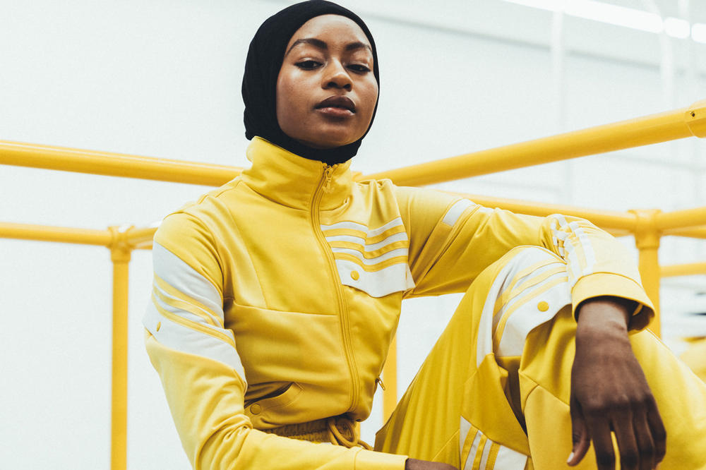 adidas Originals Daniëlle Cathari Presentation New York Fashion Week 2018 Yellow Tracksuit