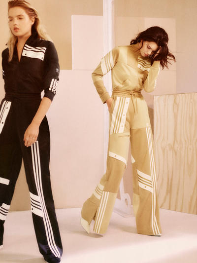 Kendall Jenner Danielle Cathari adidas Originals Tracksuit Campaign