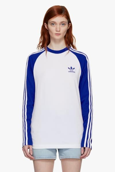 adidas Originals New Basic Pieces Available Now SSENSE Trefoil Logo Retro Hoodie Adidas Crop Top