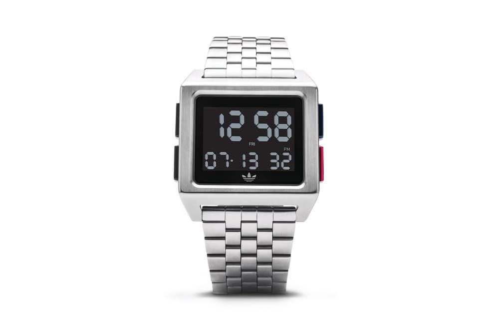 adidas Originals Timepiece Collection Archive M1 Silver Black
