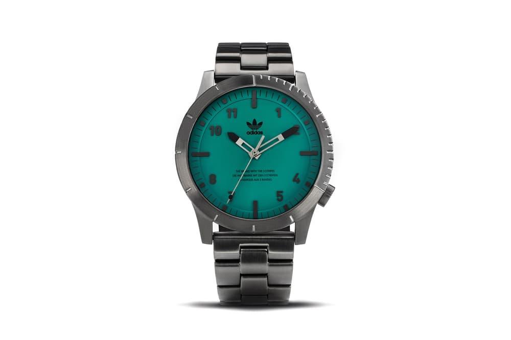 adidas Originals Timepiece Collection Cypher M1 Gunmetal Subgreen