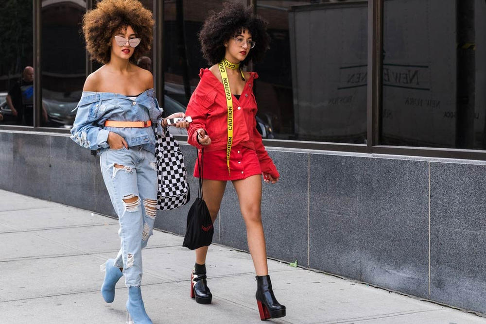 New York Fashion Week Spring Summer 2018 Street Snaps