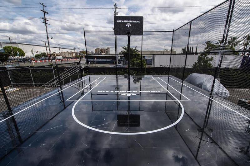 adidas originals alexander wang basketball court black marble los angeles