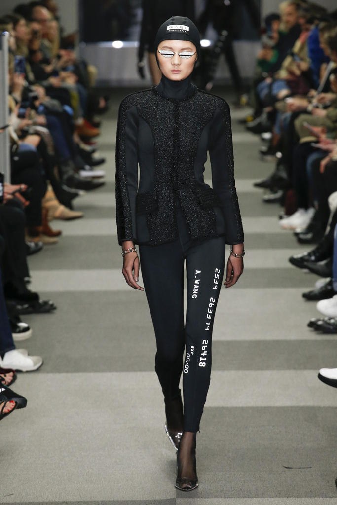 Gentle Monster Sunglasses Alexander Wang Fall Winter 2018 New York Fashion Week NYFW Collection Runway Show
