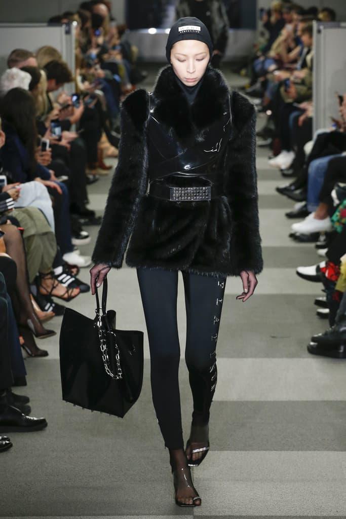 Alexander Wang Fall Winter 2018 New York Fashion Week NYFW Collection Runway Show