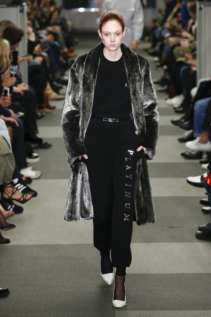 Natalie Westling Alexander Wang Fall Winter 2018 New York Fashion Week NYFW Collection Runway Show