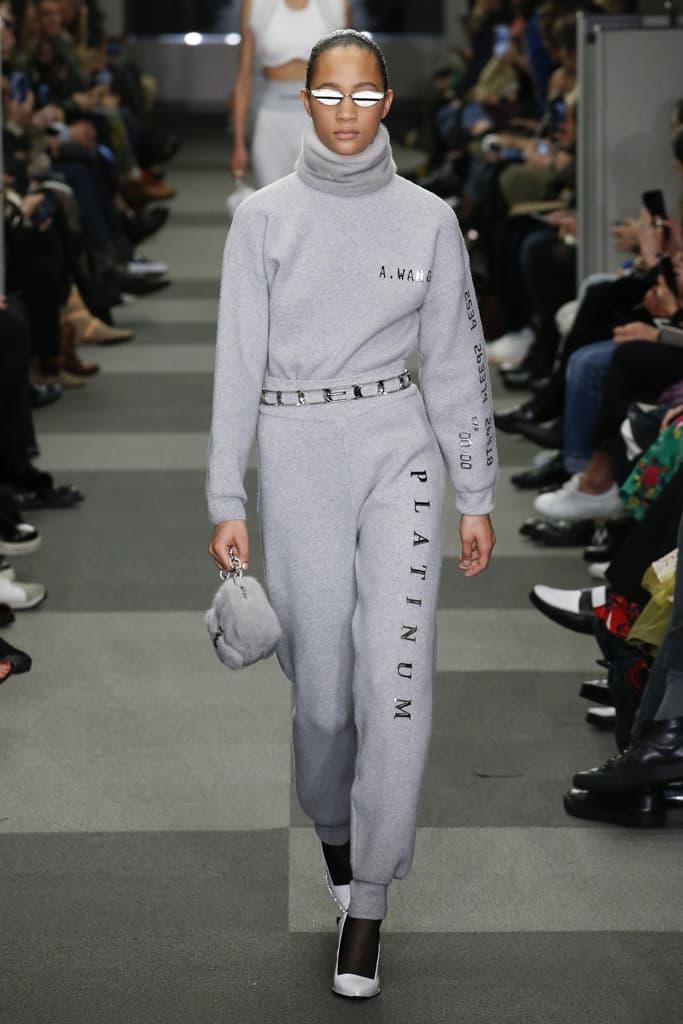 Selena Forrest Alexander Wang Fall Winter 2018 New York Fashion Week NYFW Collection Runway Show