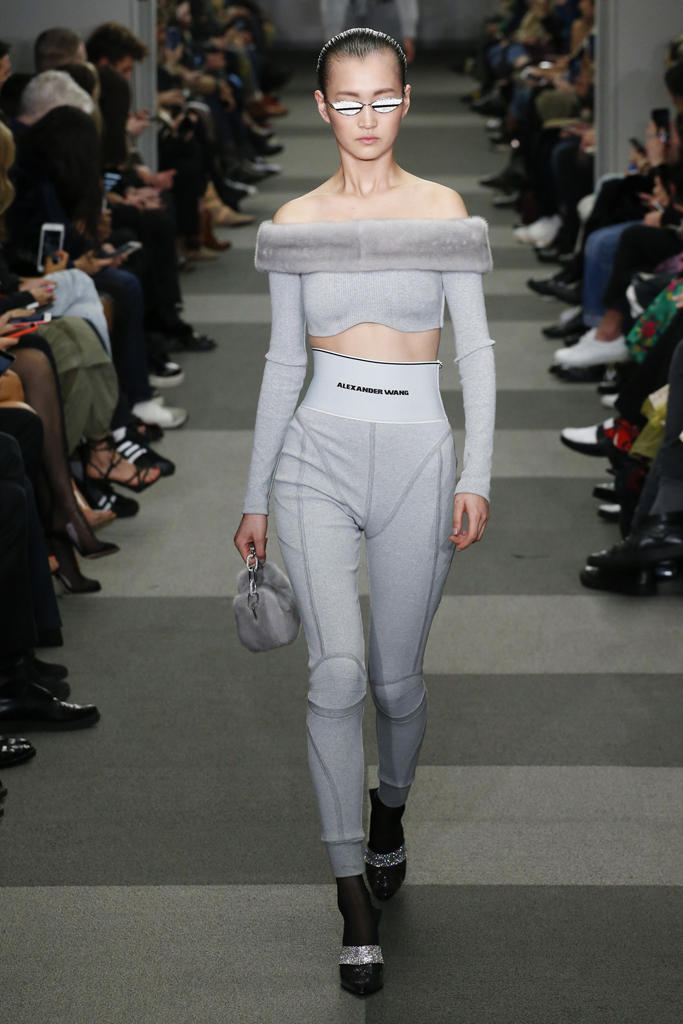 Gentle Monster Sunglasses Alexander Wang Fall Winter 2018 New York Fashion Week NYFW Collection Runway Show