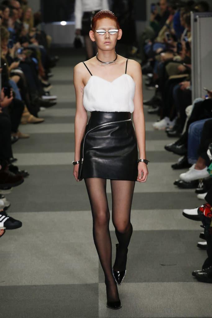 EZ Gentle Monster Sunglasses Alexander Wang Fall Winter 2018 New York Fashion Week NYFW Collection Runway Show