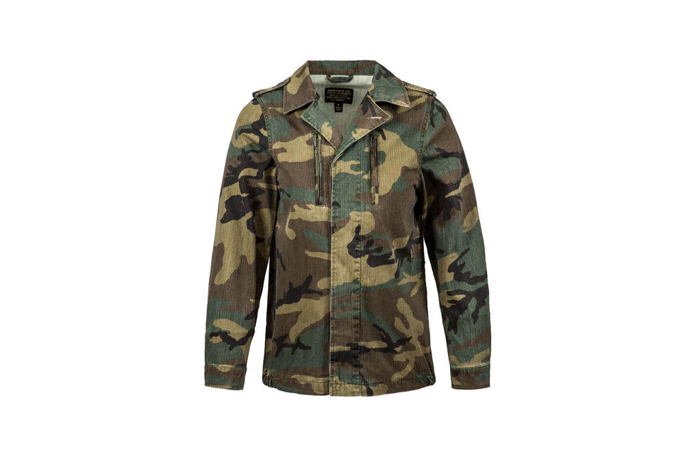 Alpha Industries F-2 French Field Coat Camo Spring Summer 2018