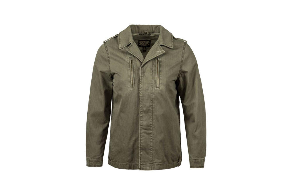 Alpha Industries F-2 French Field Coat Deco Green Spring Summer 2018