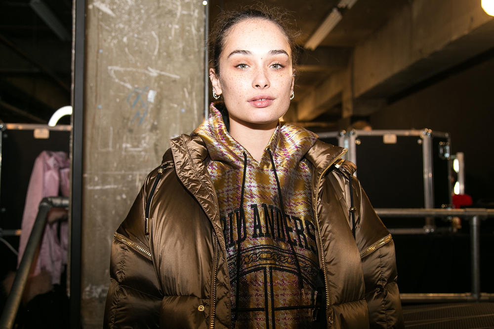 Astrid Andersen Fall Winter Backstage 2018