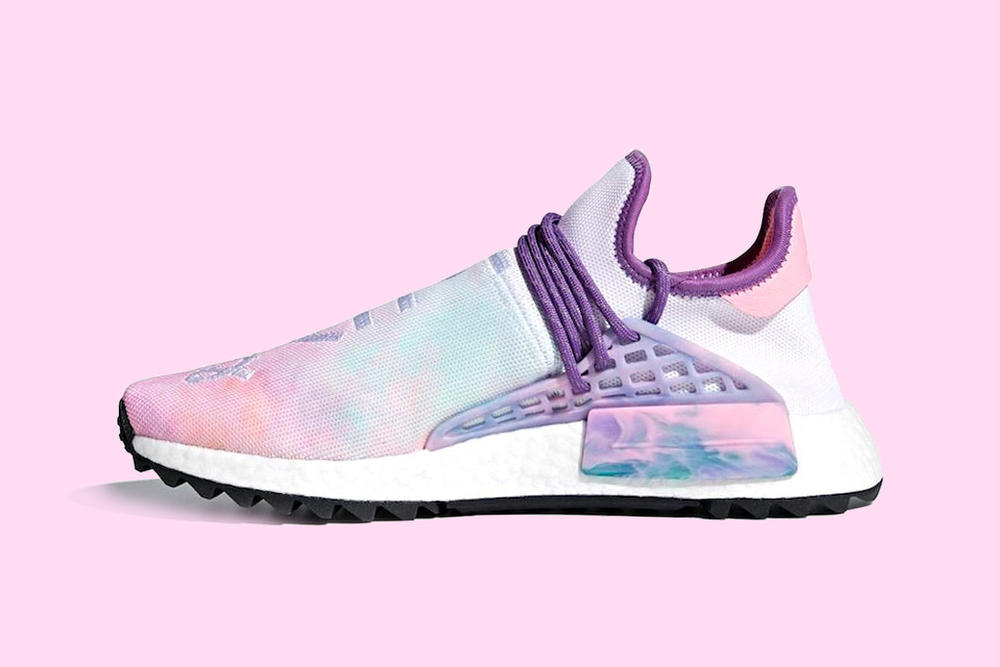 61fb80589e49d Find out how to get your hands on the coveted Pharrell x adidas Originals Hu  NMD  Trail Holi  Pack.