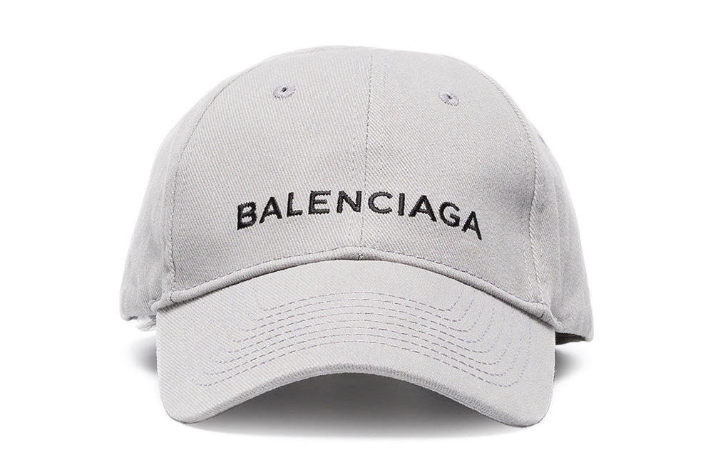 0ca5a674a055 Balenciaga logo baseball cap light grey minimal demna gvasalia where to buy  womens mens unisex