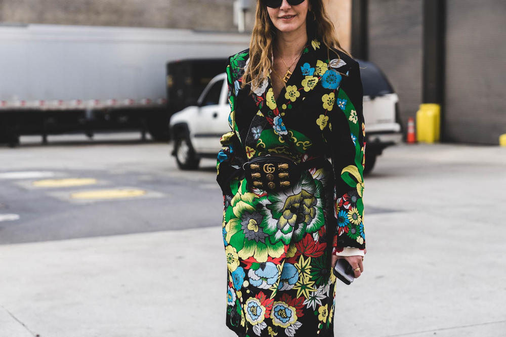 Woman New York Fashion Week 2018 Streetsnaps