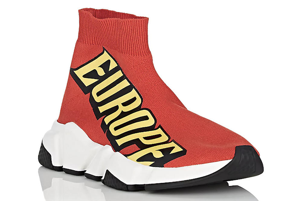 Balenciaga Speed Trainers pre order where to buy yellow red the power of dreams europe collection barneys Demna Gvasalia