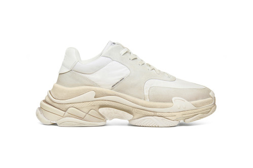 dfac75c44 Balenciaga's Triple-S Sneakers Get a Minimalist Makeover