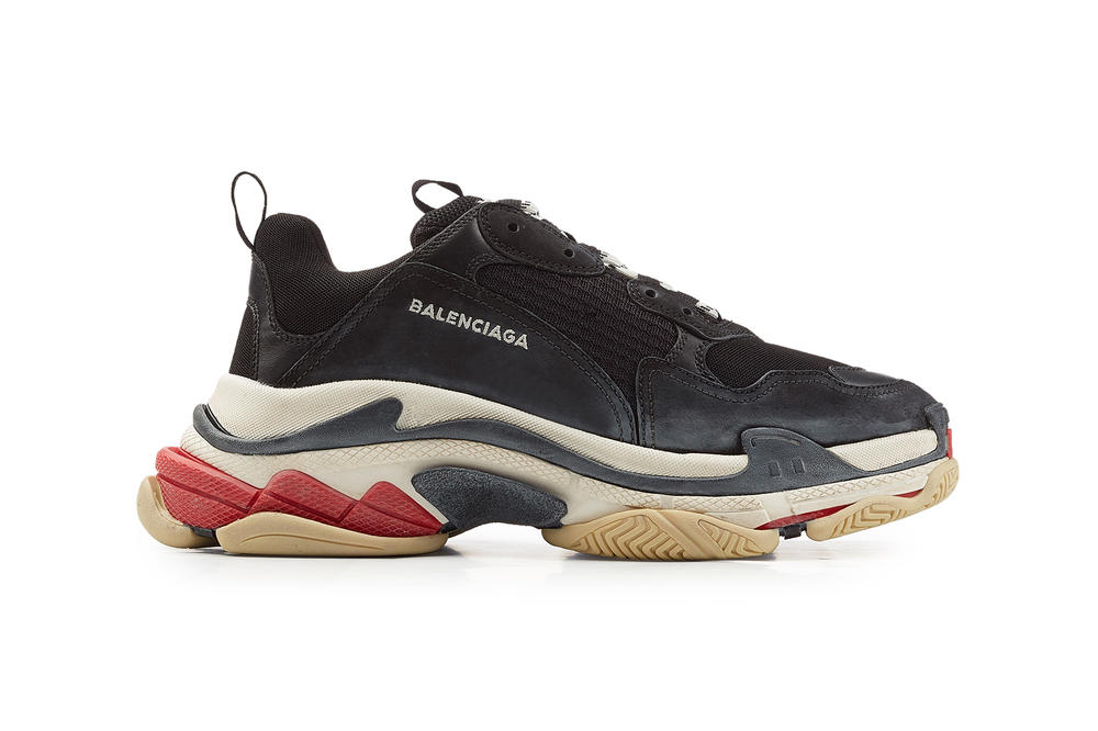 c2f897fc414d Balenciaga Triple S 2018 new colorways mens womens only exclusive black  silver metallic pink where to