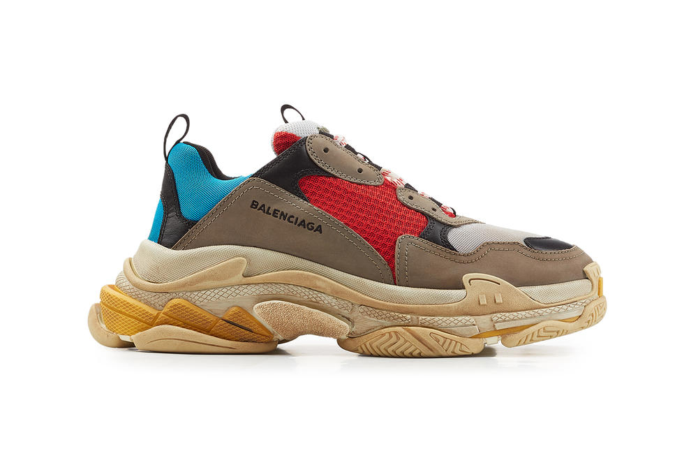 Balenciaga Triple S 2018 new colorways mens womens only exclusive black silver metallic pink where to buy stylebop