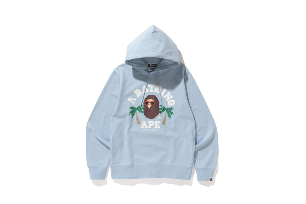 BAPE Los Angeles Capsule Collection T-Shirts Hoodies Sweaters Shorts Blue