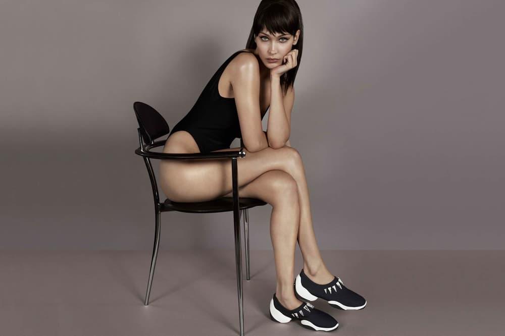 Bella Hadid Giuseppe Zanotti LIGHT JUMP LTS Sneaker Black