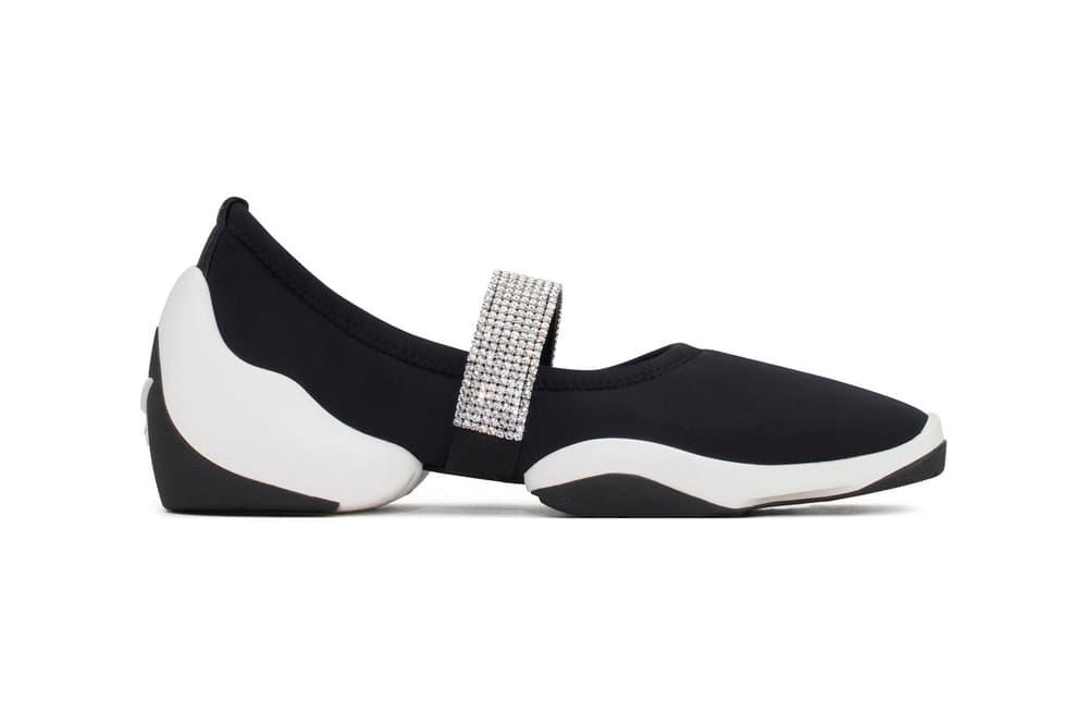 Giuseppe Zanotti JUMP CRYSTAL Sneaker Black