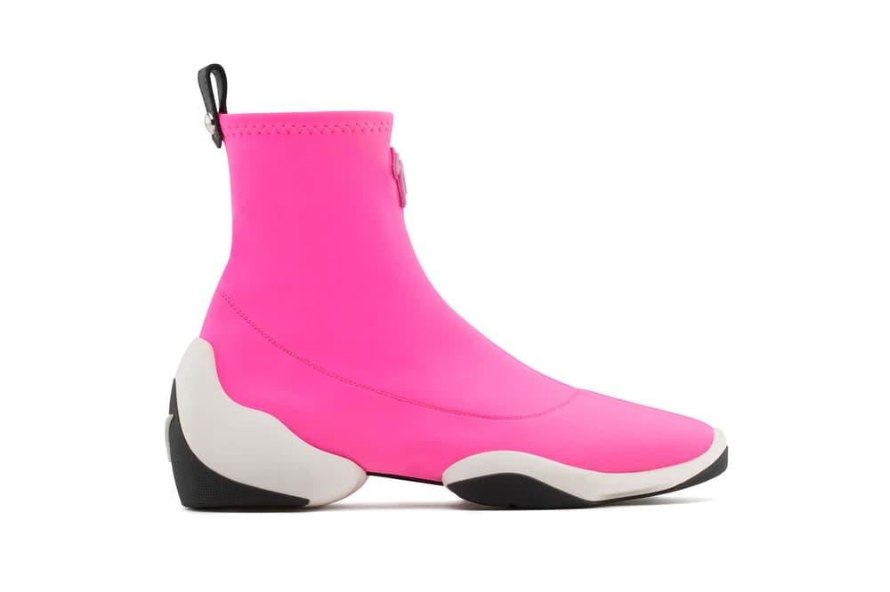 Giuseppe Zanotti LIGHT JUMP HT1 Sneaker Pink