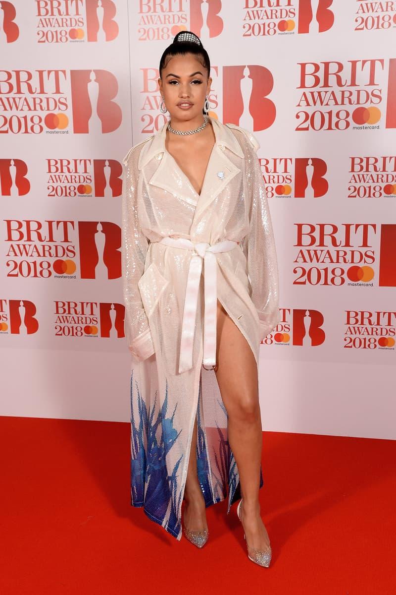 Mabel Brit Awards 2018 Red Carpet