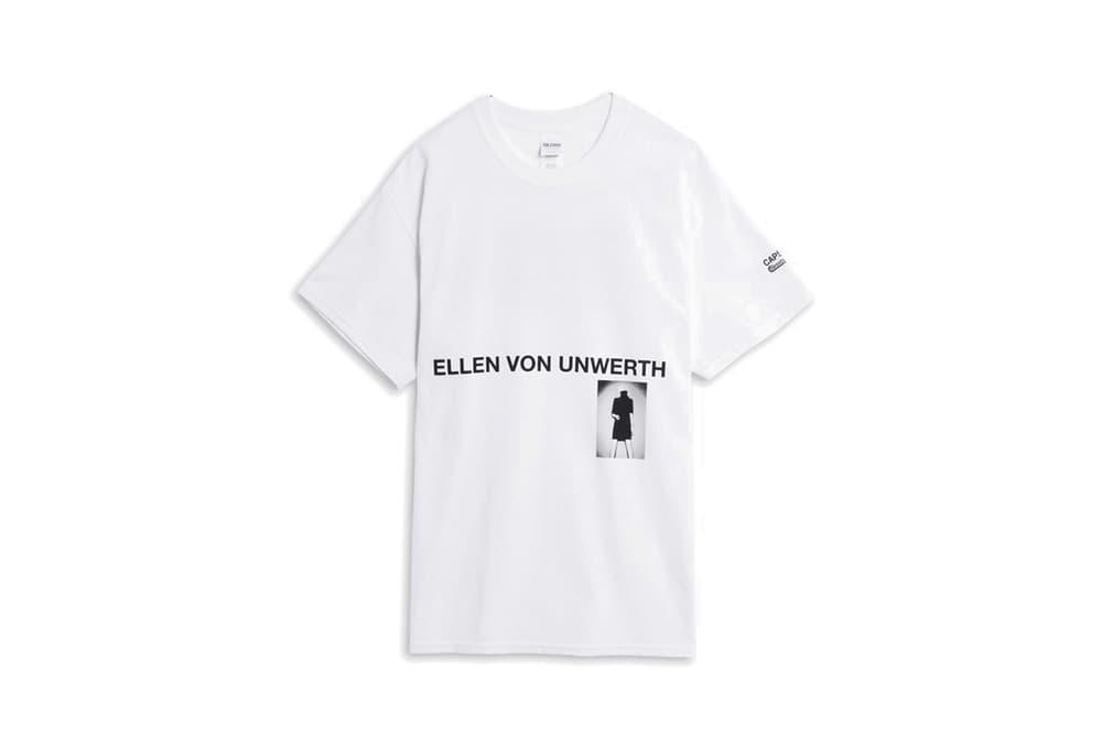 Ellen von Unwerth x Caliroots Capsule Collection White T-Shirt