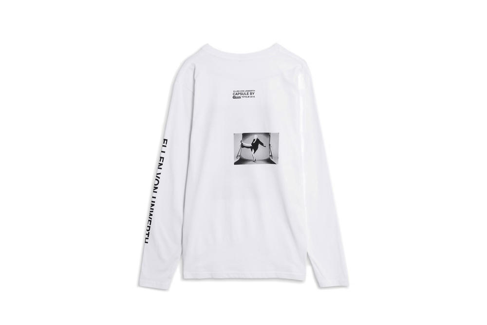 Ellen von Unwerth x Caliroots Capsule Collection White Longsleeve
