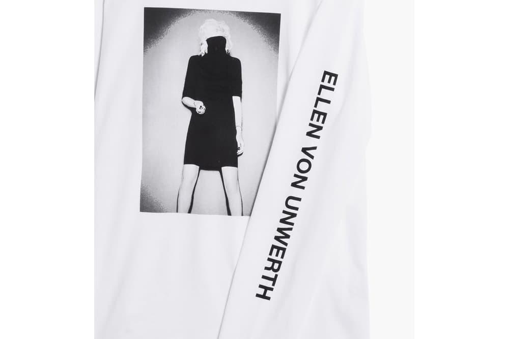 Ellen von Unwerth x Caliroots Capsule Collection White Longsleeve Detail