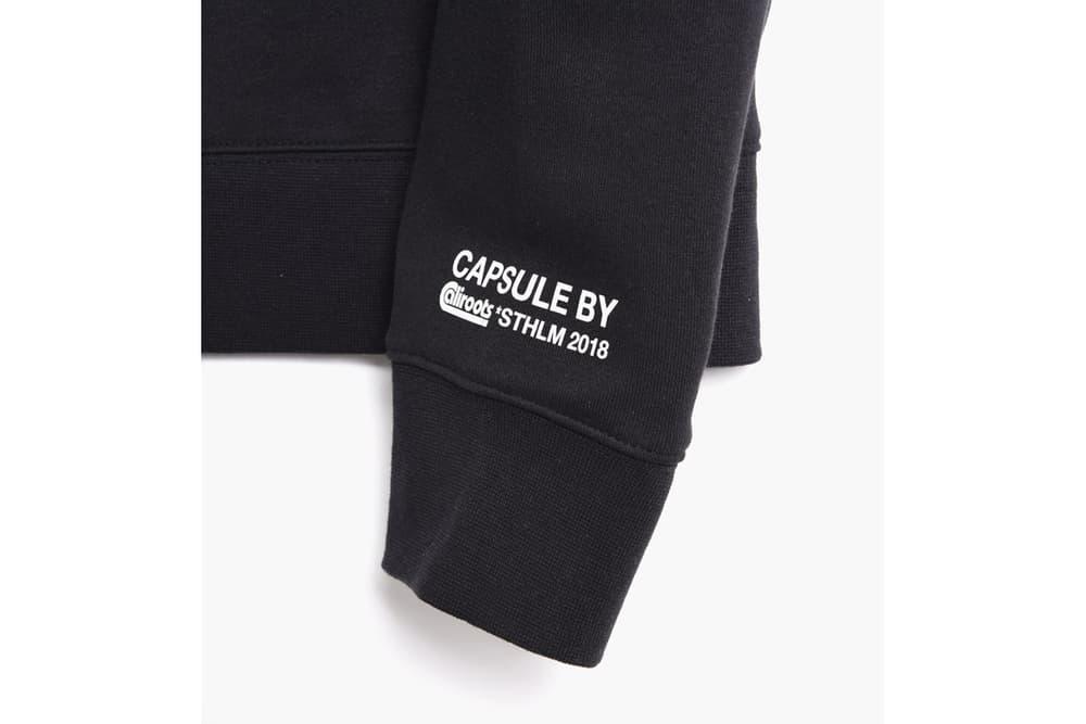 Ellen von Unwerth x Caliroots Capsule Collection Black Hoodie Detail