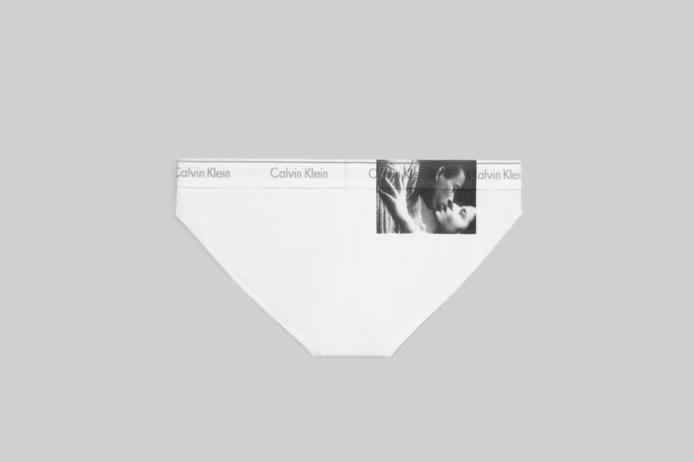 Andy Warhol x Calvin Klein Underwear Capsule Collection Kiss Art Bra Briefs Photography