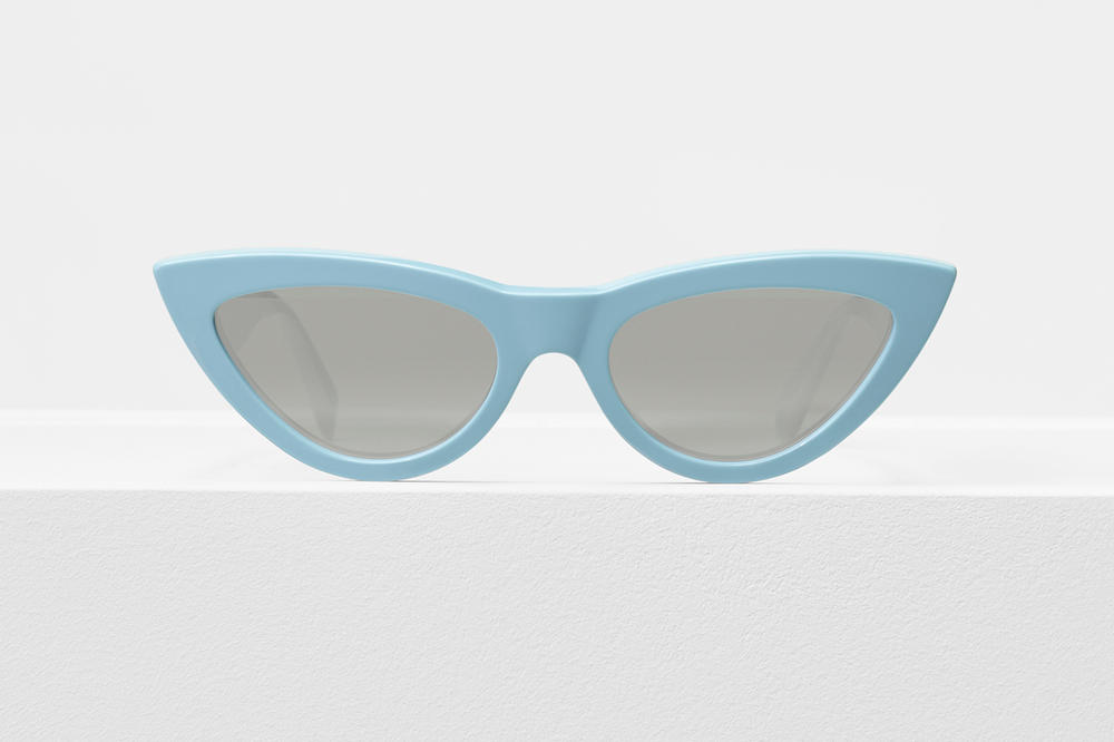 Celine Cat Eye Sunglasses Baby Blue