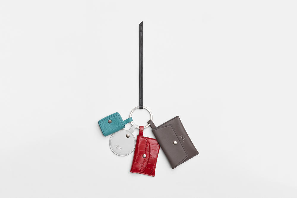 Celine Multikey Ring Pop Red