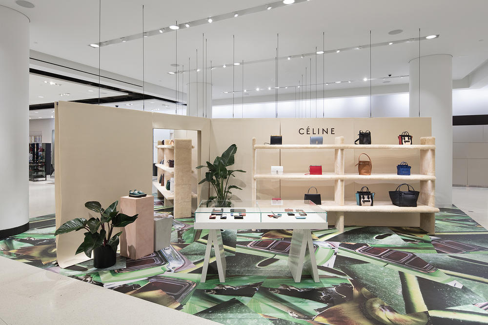 Celine Nordstrom Seattle Pop Up