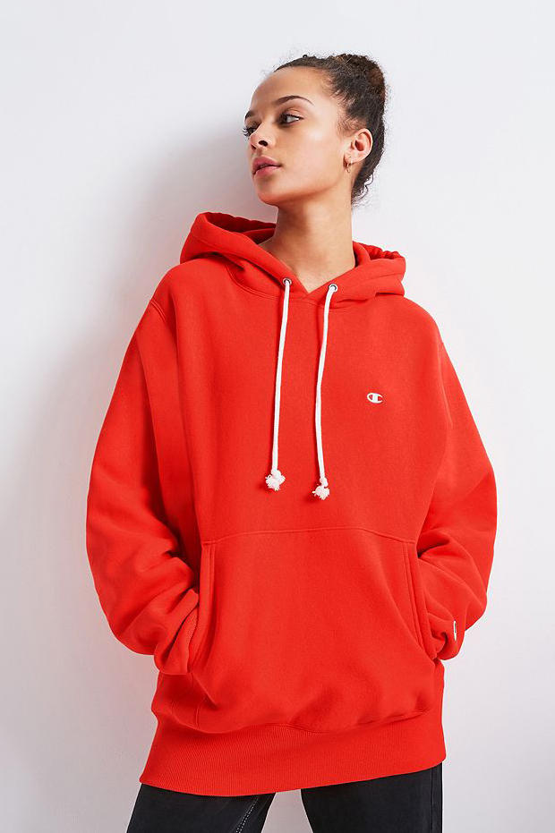 Champion x Urban Outfitters Hoodie Orange