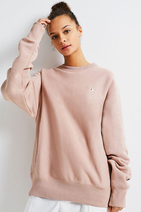 Champion x Urban Outfitters Sweatshirt Blush
